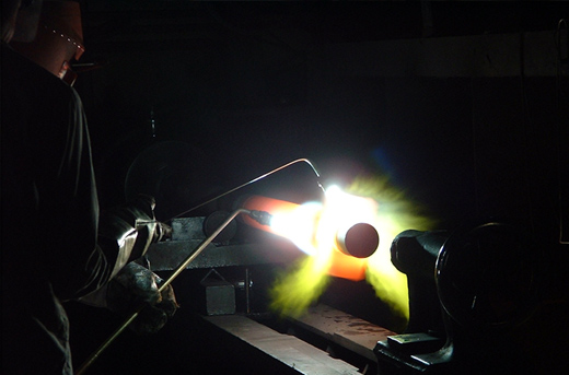 フレーム溶射 SUS316+ステライト#1溶射